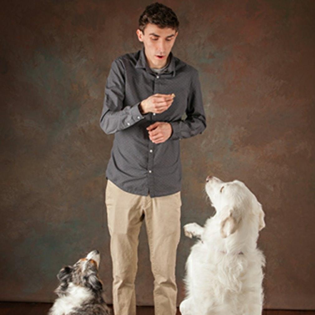 dog walker Shane