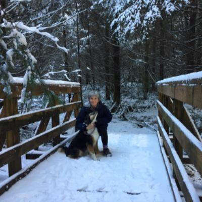dog walker Carole