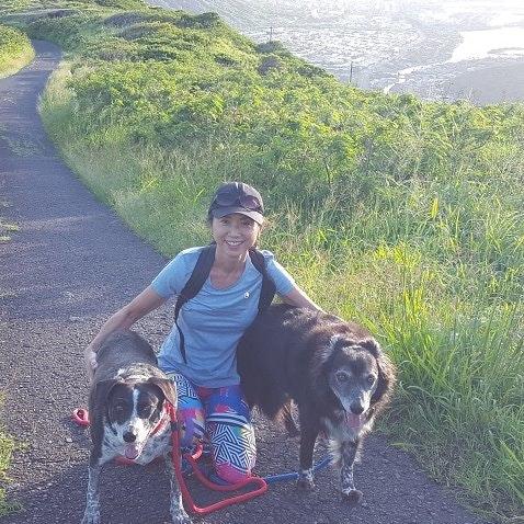 dog walker Masako
